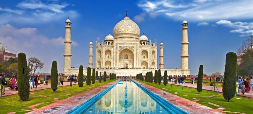 جاذبه های دیدنی هند و دهلی نو تاج محل
